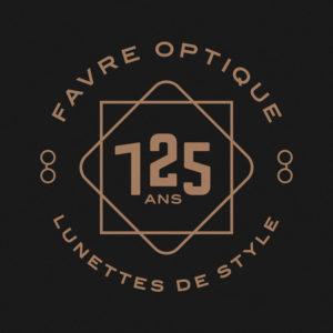 Logo 125 ans Favre Optique