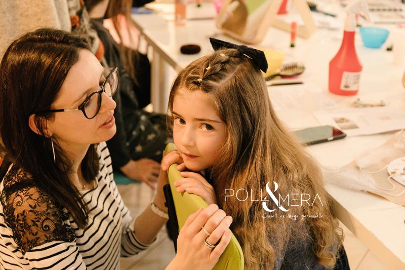 Atelier coiffures et bricolage , filles rebelles